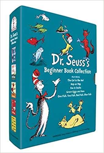 Dr. Seuss's Beginner Book Collection (Cat in the Hat, One Fish Two Fish, Green Eggs and Ham, Hop on Pop, Fox in Socks) Hardcover – Box set, September 22, 2009
