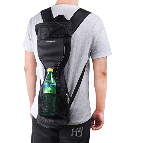 Waterproof Backpack to Carry and Store your Drifting Board (Two Wheels Smart Balance Board Scooter Electric Self Smart Drifting Board) Mesh Pocket Adjustable Shoulder Straps