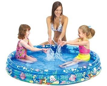 Jilong Tropical Fish Pool Ø 157 X 25 Cm Kinderpool Planschbecken Schwimmbecken  Kinder Schwimmbad Für Garten