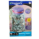 Discovery Coin-Counting Money Jar (Purple)