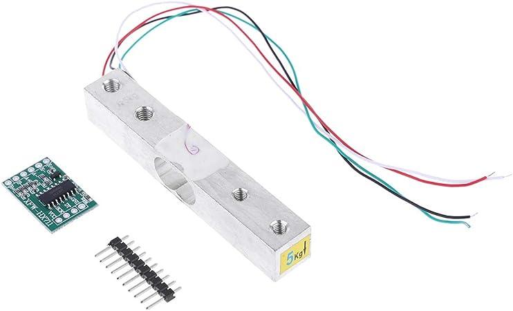 BIlinli Cella di carico Amplificatore 5 kg HX711 Breakout
