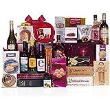 Lote navideño con ibéricos de bellota de Salamanca, queso semicurado, whisky escocés Chivas, ron añejo, ginebra, cava y vinos,…