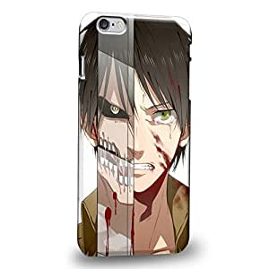 Case88 Premium Designs Attack on Titans Elen Yeager Protective Snap-on Hard Back Case Cover for Apple iPhone 6 Plus 5.5""