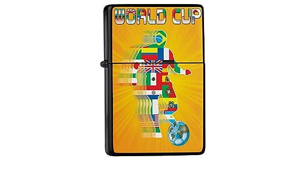 leotie Mechero Lighter impresas banderas copa del mundo de fútbol ...
