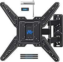 Mounting Dream Full Motion TV Wall Mount for Most 26-55 Inch TVs, Wall Mount for TV with Swivel Articulating Arms,...