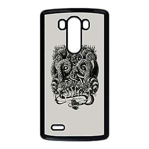 LG G3 Phone Case Covers Black Tlaloc YZQ Hard DIY Case