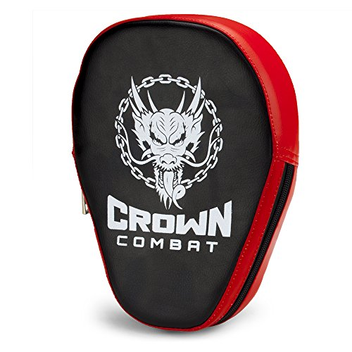 Curved PU Leather Punch Mitt, Single by Crown Sporting Goods
