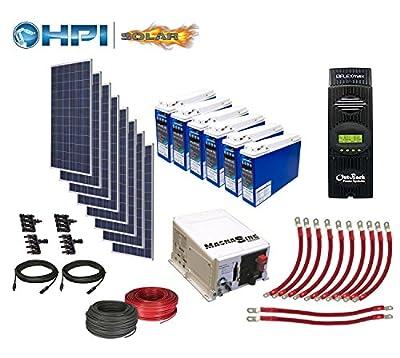 10080 Watt Solar Panel System - Complete DIY