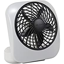 O2 Cool 5 Inch Battery Operated Portable Fan