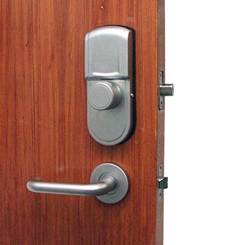 Security Lock Lever : Digi keyless keypad fingerprint deadbolt double cylinder