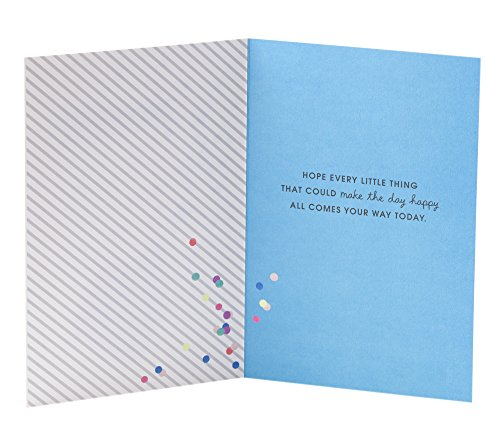 Hallmark Birthday Greeting Card for Her (Envelope with Confetti) Photo #5