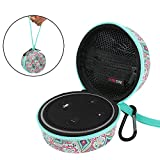 Echo Dot Case, Portable Travel Hard Case Cover for Amazon Echo Dot (2nd Generation) with Carabiner. Fits USB Cable and Wall Charger. (Bohemia)