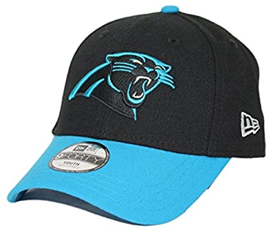 """Carolina Panthers New Era Youth NFL 9Forty """"The League"""" Adjustable Hat"""