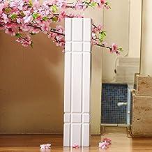 SU@DA White floor large vase modern minimalist living garden dry wood 58cm , big , picture