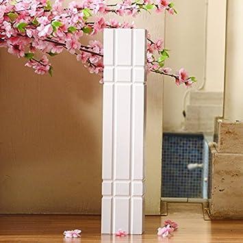 SU @ DA Blanc au sol Grand vase moderne minimaliste Salon de jardin ...