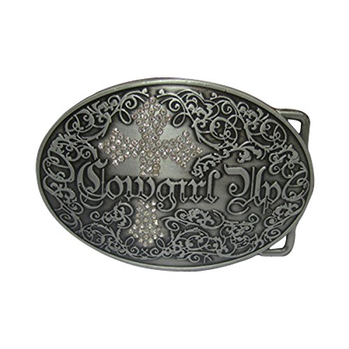 E-Clover Fashion Cowgirl UP Western Belt Buckle Rhinestone - Ladies Western Accessories