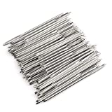 Z-COLOR 50pcs Set Big Eye Needles Blunt White 7cm