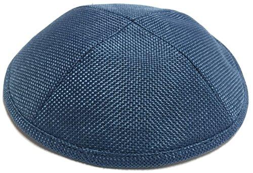 (A1 Skullcap Burlap Fabric Kippot Single or Bulk Kippah Optional Custom Imprinting Inside for Your Speacial Event )