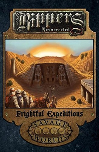Rippers Resurrected Frightful Expeditions  Softcover  S2p10323