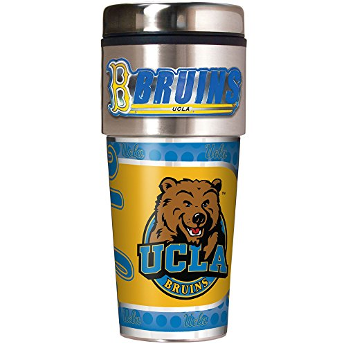 NCAA UCLA Bruins Metallic Travel Tumbler,  16-Ounce (Ucla Tailgate Bruins)