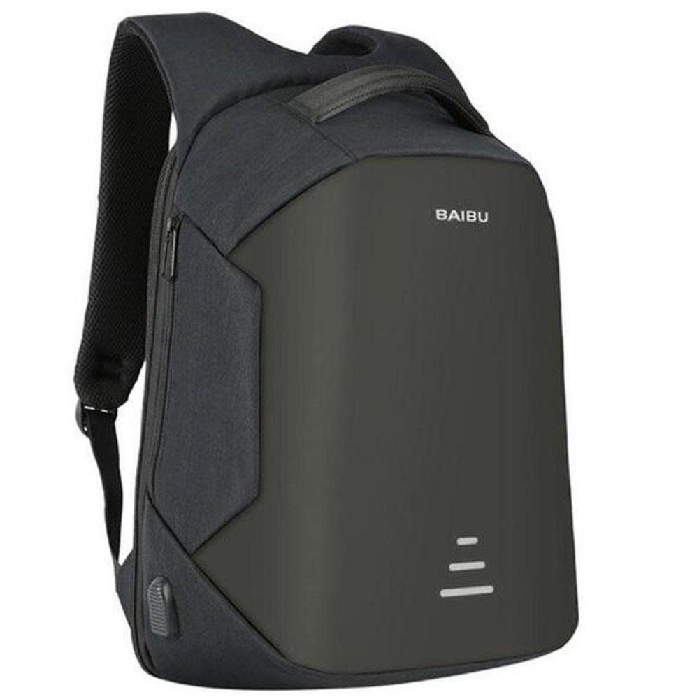 1787ffa2ec69 Amazon.com: BAIBU Waterproof Anti-theft Laptop 15.6 inch Backpack ...