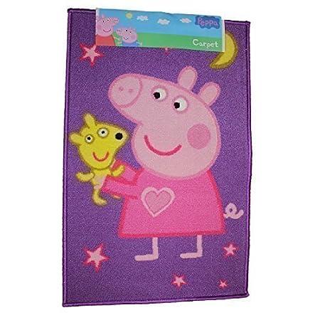 Prime Peppa Pig Night Time Moon Stars Print Rectangular Bedroom Carpet Door Rug Floor Mat 50X80Cm Interior Design Ideas Tzicisoteloinfo