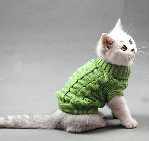 Turtleneck Cats Sweater