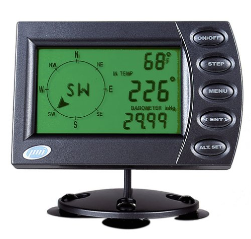 PNI V6000 Deluxe Car Monitoring System with Compass, Barometer, Altimeter & Thermometer Distortion Compass
