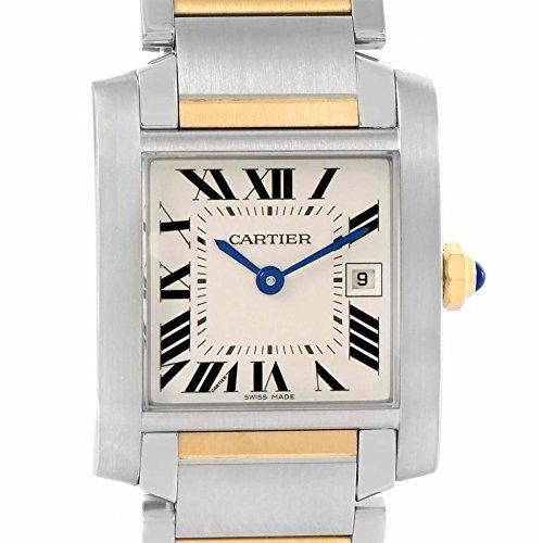 Cartier Tank Francaise quartz womens Watch W51012Q4 (Certified Pre-owned)