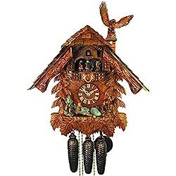 August Schwer Cuckoo Clock House, Eagle, Hunter
