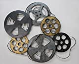 TWG Reel Film Metal Film Reel Hollywood Style Wall Decor