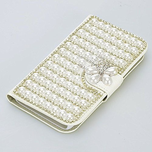 Samsung Galaxy S8 Hülle, Vandot 3D Bling Diamant Handgefertigt Handyhülle für Samsung Galaxy S8 G9500 Schutzhülle PU Leder Stand Bookstyle Case Cover Strass Bling Kristall Handytasche BOOK Brieftasche Diamant 27