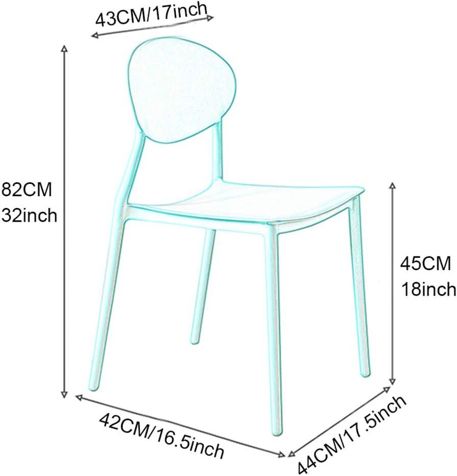 Chaises de Salle à Manger - Lot de 4 Chaise de Cuisine pour Chambre Salon Restaurant Bureau - Chaise d\'appoint Chaise Longue - Domicile et Entreprise D