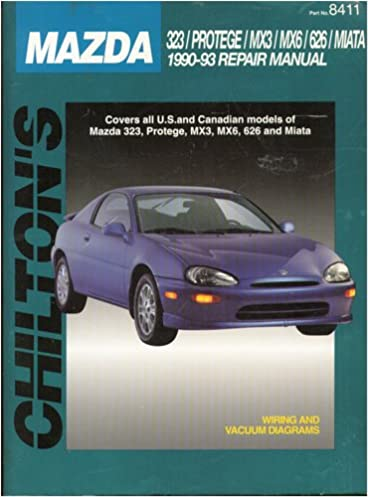 chilton s mazda 323 protege mx3 mx6 626 miata 1990 93 repair rh amazon com mazda mx 3 user manual Mazda RX3