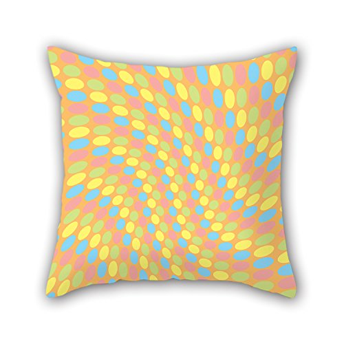 Artistdecor 16 X 16 Inches / 40 By 40 Cm Geometry Throw Pillow Covers 2 Sides Is Fit For Wife Birthday Valentine Dinning Room Her Wife