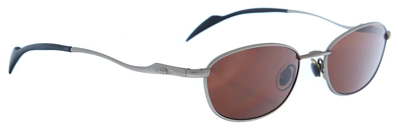 Amazon.com: Rebel raíces anteojos de sol plata/negro 6518 ...