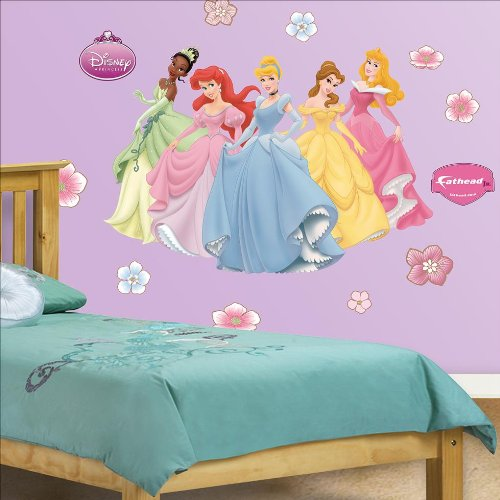 Fathead Disney Princess Collection Junior Wall Graphic