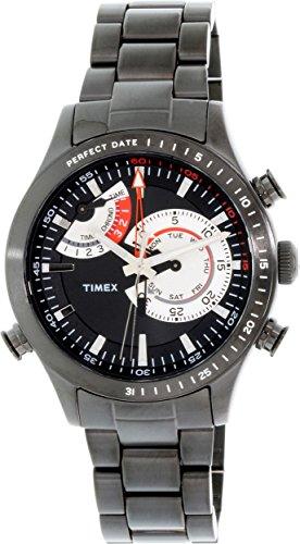 Timex Men's TW2P72800DH Intelligent Quartz Collection Analog Display Quartz Black - Mens Dress Watch Collection