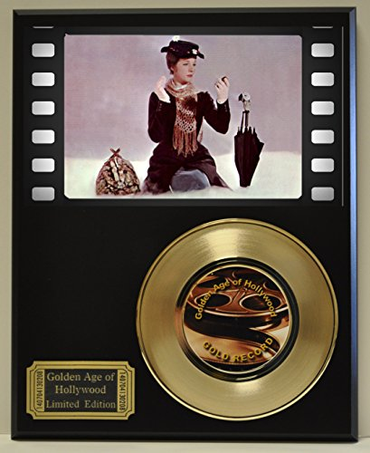 Mary Poppins Limited Edition Gold 45 Record Display. Only 500 made. Limited quanities. FREE US SHIPPING