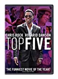 Pulsing with the rhythm of his greatest stand-up, Chris Rock's TOP FIVE takes things to the next level, reveling in the high and the low, and blending a star-studded comedic romp with an irresistible romance. TOP FIVE digs under the surface o...