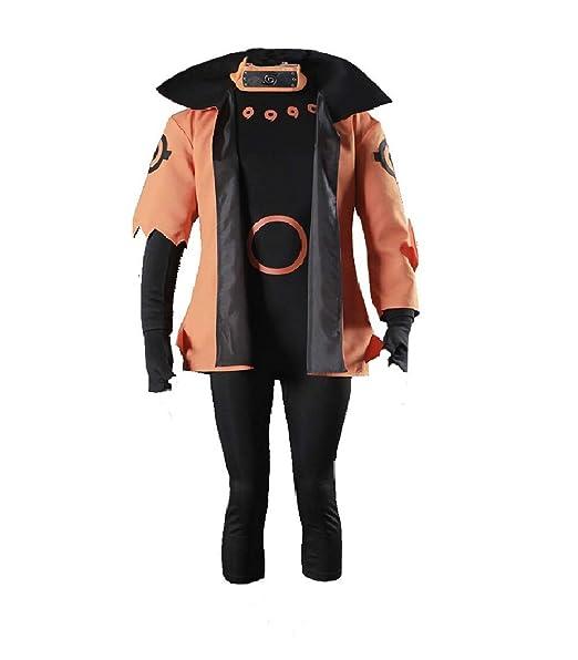 Amazon.com: Disfraz de Naruto Shippuden Uzumaki Naruto ...