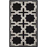 Safavieh Amherst Collection AMT418L Anthracite and Grey Indoor/Outdoor Area Rug (3′ x 5′) Review