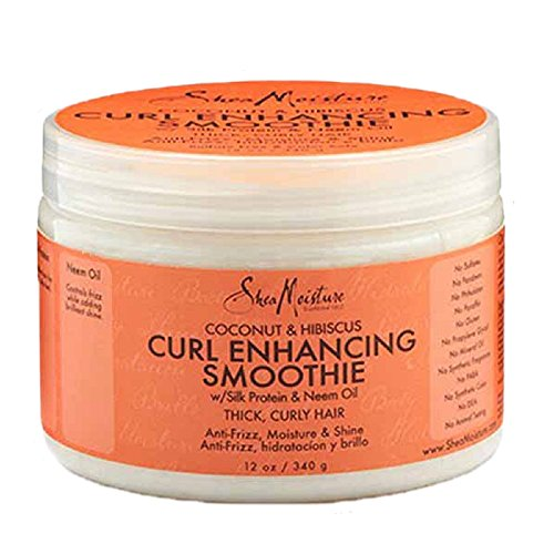 SheaMoisture Coconut & Hibiscus Curl Enhancing Smoothie, 12 Ounce
