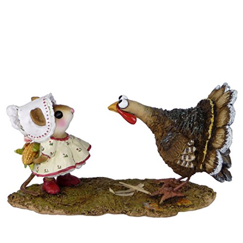 Wee Forest Folk Miniature Figurine M-558 - Cobb Gobbler made in New England