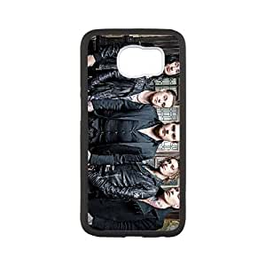 Samsung Galaxy S6 Cell Phone Case Covers White Asking Alexandria Dicoq