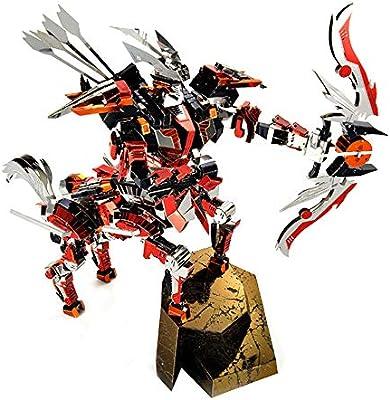 3D Metal Puzzle Model Building Kit Half Man Half Horse Knight Warrior DIY  Laser Cut Jigsaw Toy for Adults - Microworld D007 Centaurus Archer