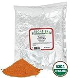 Kyпить Frontier Turmeric Root Powder Organic Fair Trade Certified, 1 lb на Amazon.com