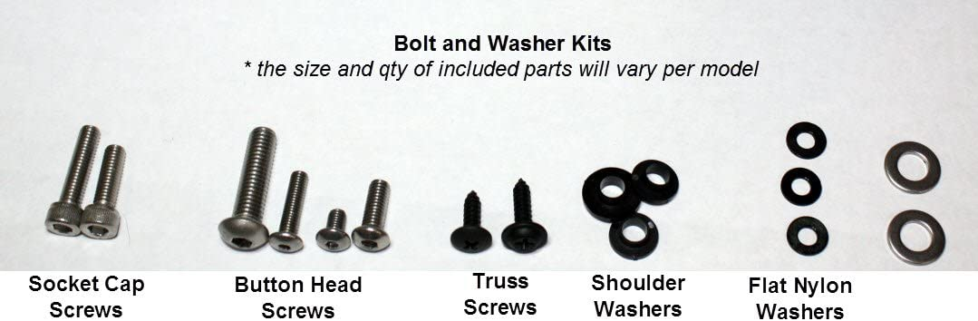 GHMotor Fairings Bolts Screws Fasteners Kit Set Made in USA for 1998 1999 2000 2001 2002 ZX6R ZX-6R 2003 2004 2005 2006 2007 2008 ZZR600 Silver