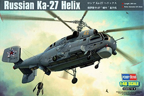 Hobby Boss Russian Ka-27 Helix Model Kit by Hobby Boss