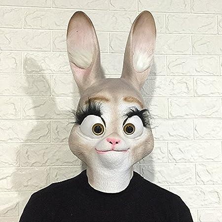 DHLZ Máscara de Conejo Arnés de Animales Conejo Madre Chica Oreja ...
